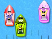 Ben10 Boat Race Game