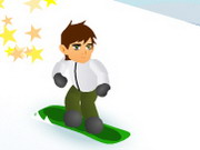 Play Ben 10 Snowboard game
