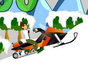 Play Ben 10 Snow Mobile game