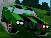 Play Ben 10 Car Differences game