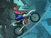 hrát Spiderman Ice Bike hra