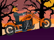 Play Halloween Bike Ride game