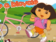 Play Dora Ride A Bicycle game