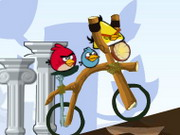 Play Angry Birds Bike Revenge game