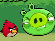 Play Angry Birds Kick Piggies game