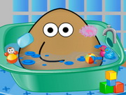 Play Pou Bath And Care game