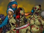 Play Ninja Vs Zombies 2 game