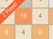 Play 2048 2 Player game
