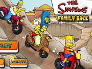 Play Simpsons Family Race game