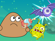 Play Pou Shoot Monster game
