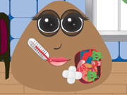 Play Pou Girl Heart Surgery game