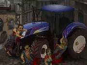 Zombie Tractor Game