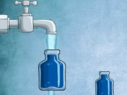 Play Empty Bottle Water Puzzle game