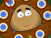 Play Pou Dart Wheel game
