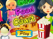 Girls Food Court Game