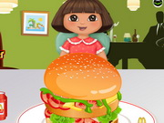 Play Dora Mcdonalds Hamburger game