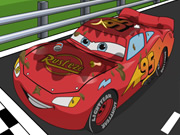 Play Lightning Mcqueen Car Wash game