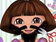 Play Dora Beard Shave game