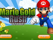 Play Mario Gold Rush game
