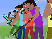 Play Minecraft Stickman Showdown game