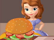 Play Sofia Burger Decoration game