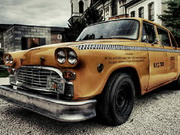 Play Old Taxi Jigsaw game