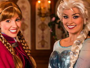 Play Frozen Real Princesses Puzzle game