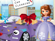 Play Sofias New Car Cleaning game