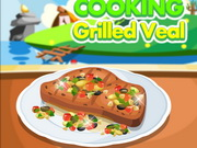 Cooking Grilled Veal Game