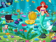 Play Princess Ariel Underwater Cleaning game