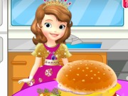 Sofia Cooking Hamburger Game
