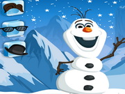 Play Frozen Olaf Fix And Dress game