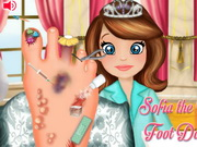 Play Sofia The First Foot Doctor game