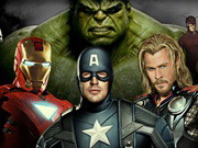 The Avengers - Differences Game