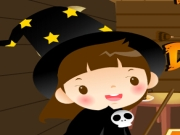 Play Halloween Room Decoration game