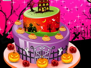 Play Halloween Special Cake Decor game