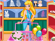 Play Winx Stella Wedding Shopping game
