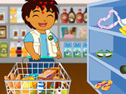 Play Diego Shopping game