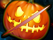 Play Halloween Pumpkin Slice game