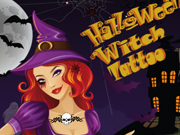 Play Halloween Witch Tattoo game