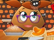Play Pou Girl Pumpkin Pie game