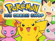 Pokemon Ice Cream Shop Game