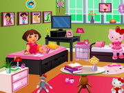 Play Doras Hello Kitty Room Decor Play Free Games Online