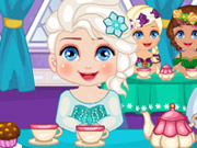 Play Elsa Royal Ball Slacking game