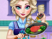 Elsa Real Cooking Game