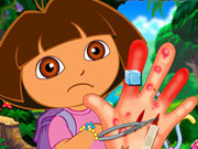 Play Dora Hand Injuries game