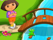 Play Dora Go Camping game