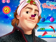 Play Frozen Kristoff Christmas Make Up game