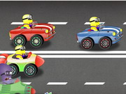 Play Minions Crazy Racing game