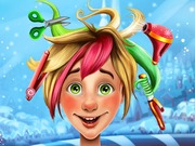 Play Christmas Elf Real Haircuts game